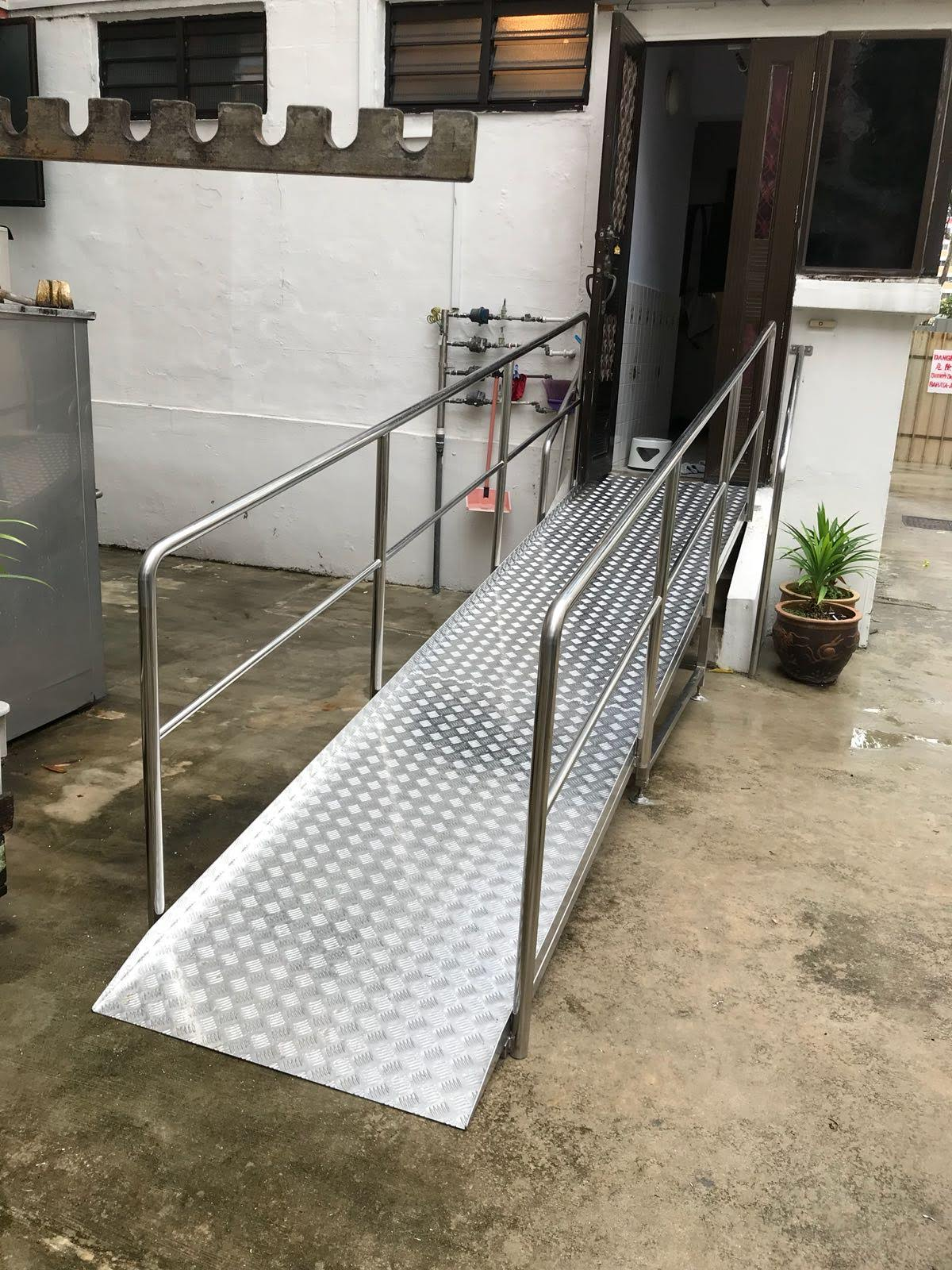 customised ramp